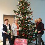 Weihnachtsbaum für das Rathaus, im Gedenken an Silvia Barta